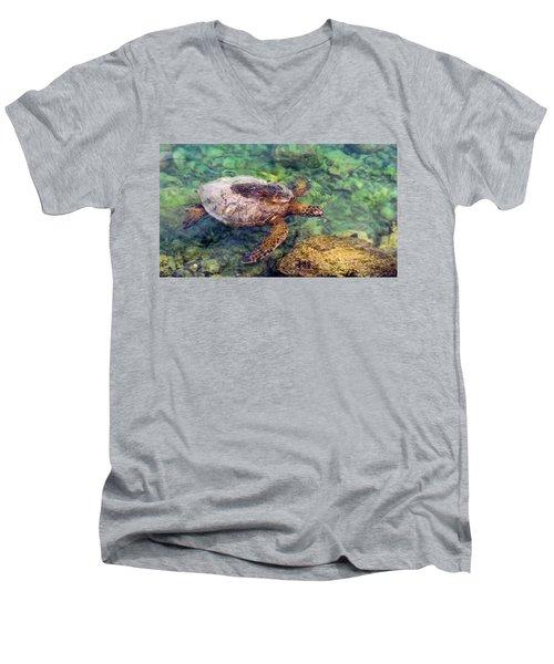 Honu Men's V-Neck T-Shirt
