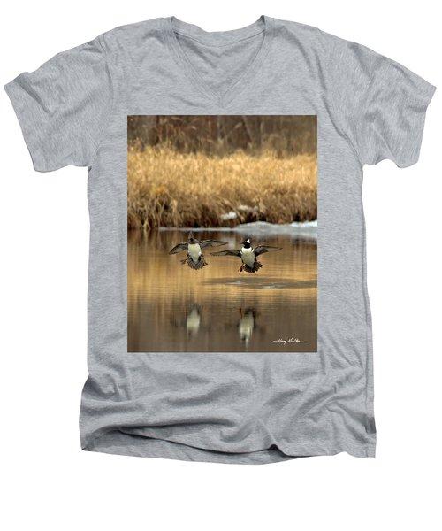 Hoodies Coming In Men's V-Neck T-Shirt