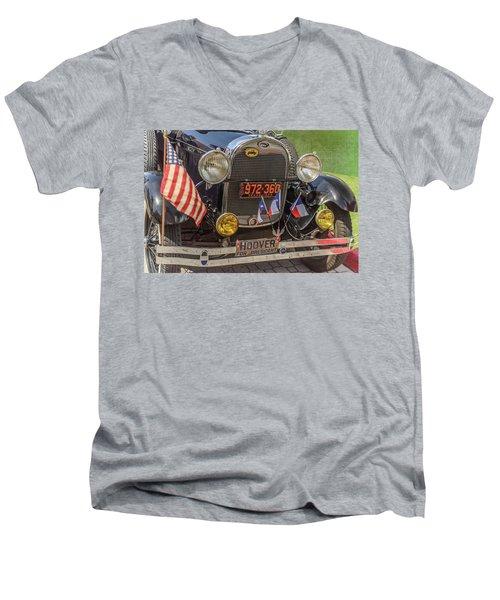 Hoover Era Ford Men's V-Neck T-Shirt