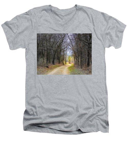 Hope In A Dark Forest Men's V-Neck T-Shirt