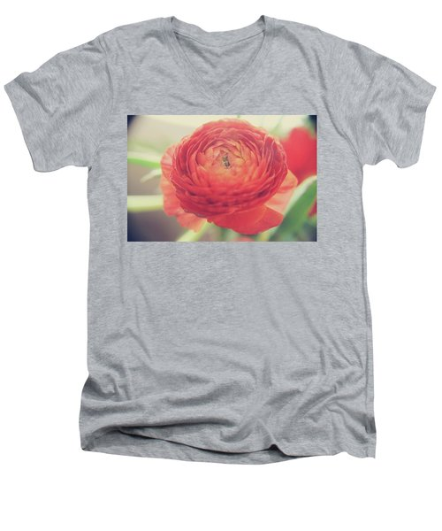 Men's V-Neck T-Shirt featuring the photograph Hope by Laurie Search