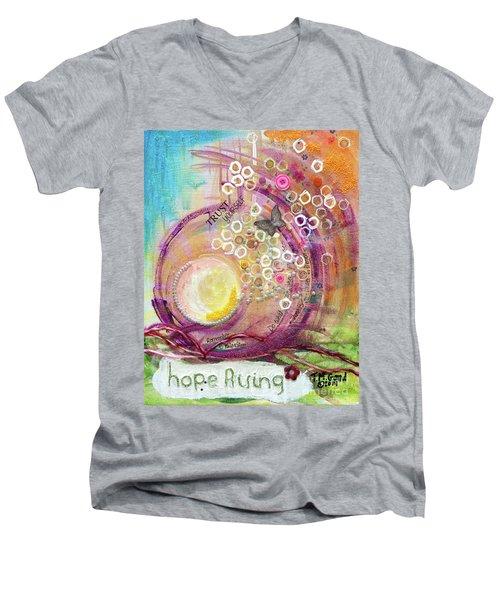 Hope Rising Men's V-Neck T-Shirt