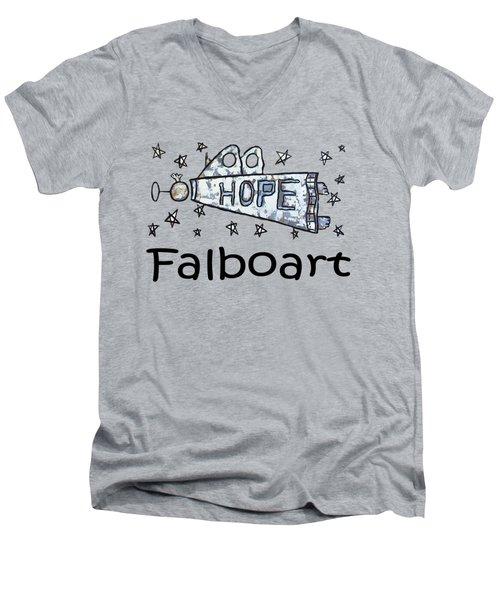 Hope T-shirt Men's V-Neck T-Shirt