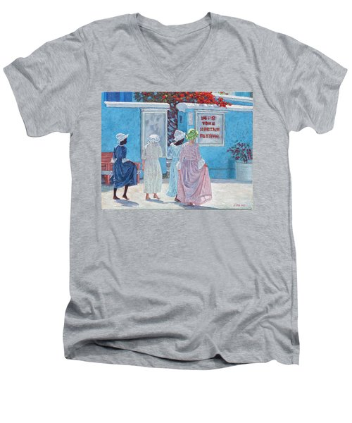 Hope Town Heritage Festival Men's V-Neck T-Shirt