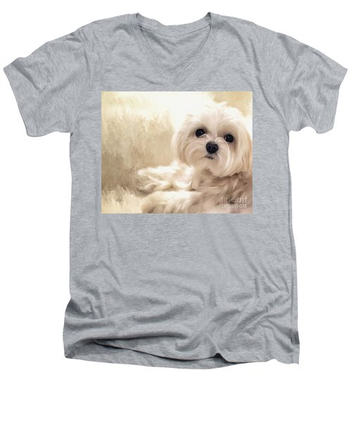 Hoping For A Cookie Men's V-Neck T-Shirt