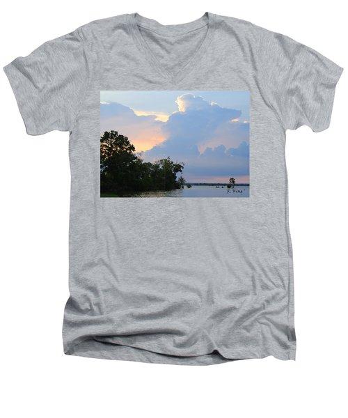 Hoping For An Evening Shower Men's V-Neck T-Shirt
