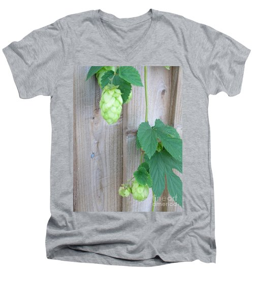 Hops On Fence Men's V-Neck T-Shirt