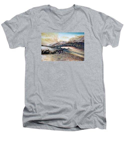 Horizons Men's V-Neck T-Shirt