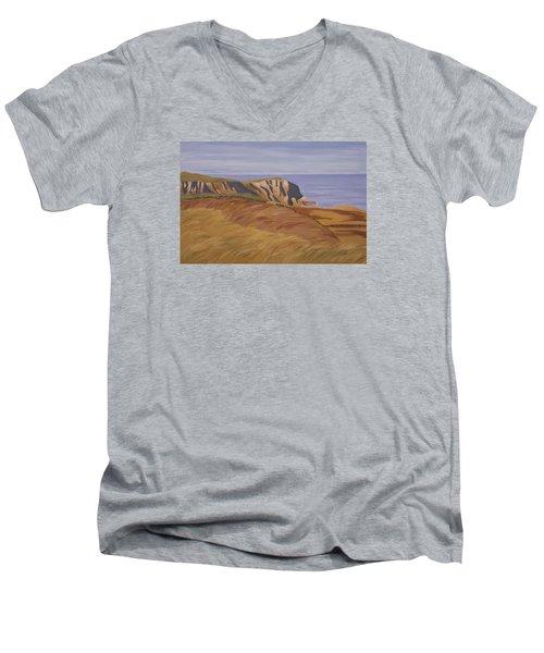 Horn Head Men's V-Neck T-Shirt