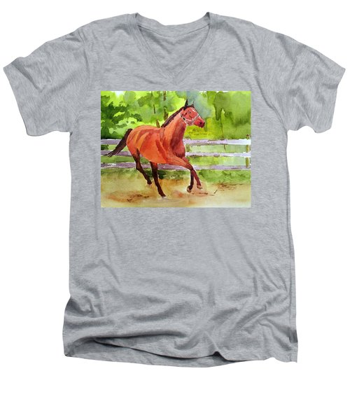 Horse #3 Men's V-Neck T-Shirt
