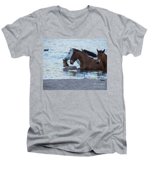 Horse 6 Men's V-Neck T-Shirt