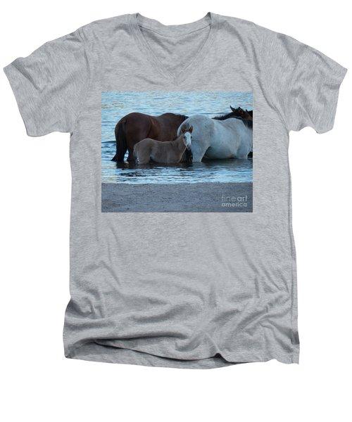 Horse 9 Men's V-Neck T-Shirt
