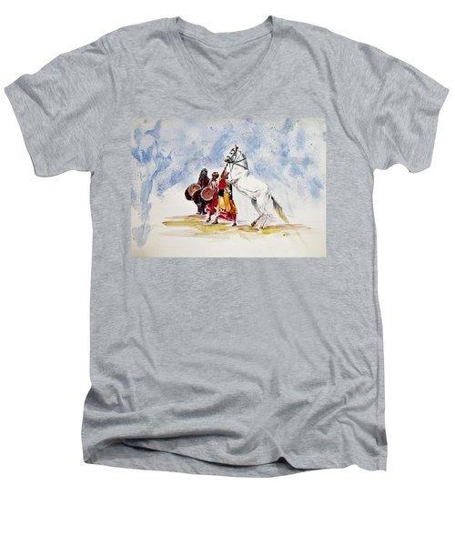 Horse Dance Men's V-Neck T-Shirt