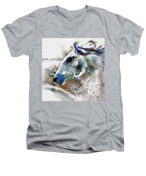 Horse Of Color Men's V-Neck T-Shirt