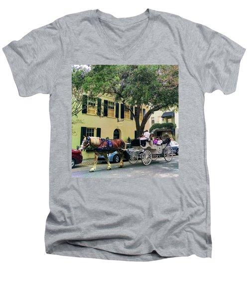 Horse Stories Men's V-Neck T-Shirt