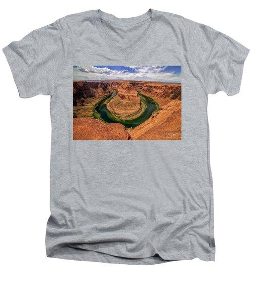 Horseshoe Bend Men's V-Neck T-Shirt