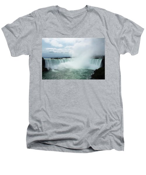 Horseshoe Falls Men's V-Neck T-Shirt