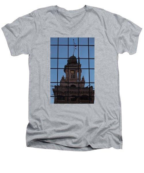 Hortense The Beautiful Men's V-Neck T-Shirt by Ed Gleichman