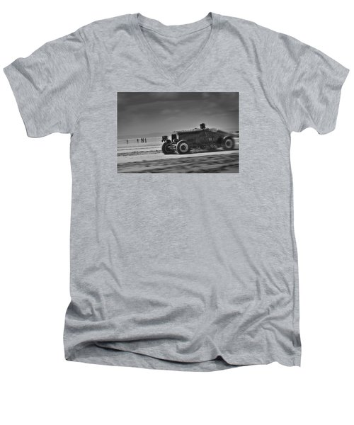 Hot Rods At Pendine 14 Men's V-Neck T-Shirt