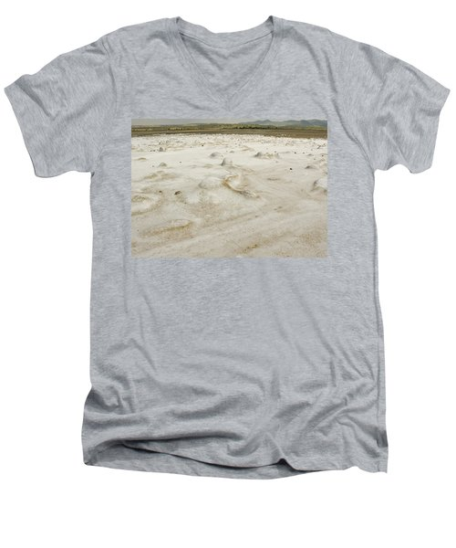 Chert Deposits Men's V-Neck T-Shirt by Patrick Kain