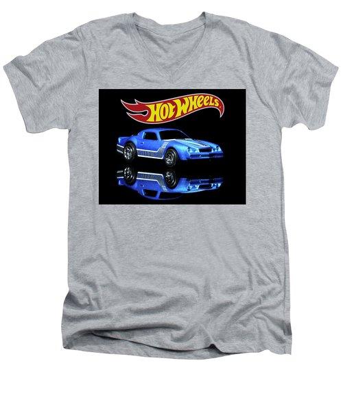 Hot Wheels Gm Camaro Z28 Men's V-Neck T-Shirt