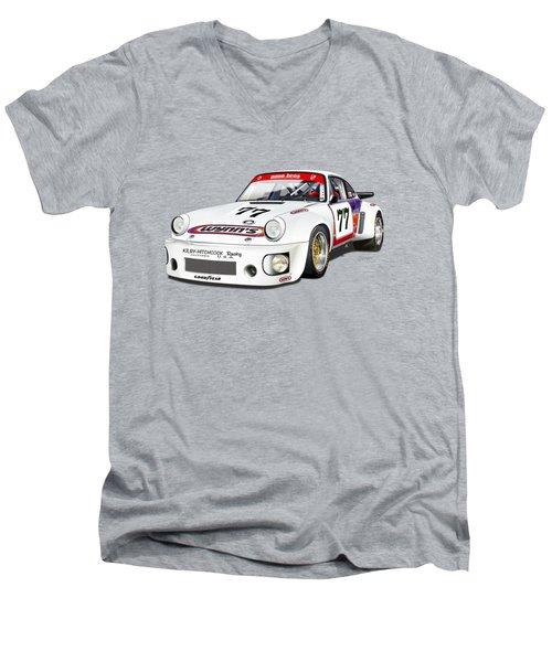 Hotchkis Rsr Lm 1980 Men's V-Neck T-Shirt