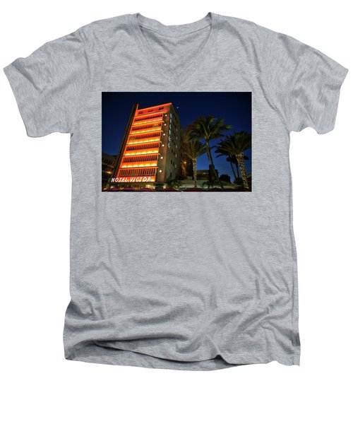 Hotel Victor South Beach Men's V-Neck T-Shirt
