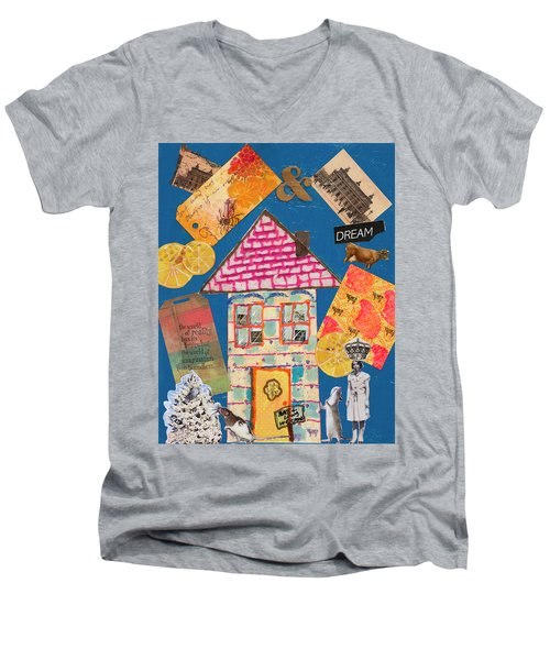 House #1 Men's V-Neck T-Shirt