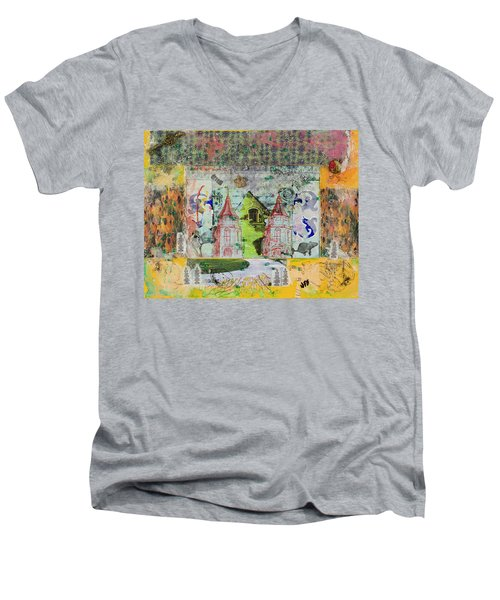 House #4 Men's V-Neck T-Shirt