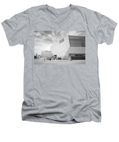 House Of Music Men's V-Neck T-Shirt