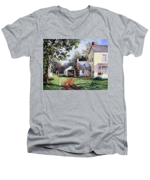 House On Bird Street Men's V-Neck T-Shirt
