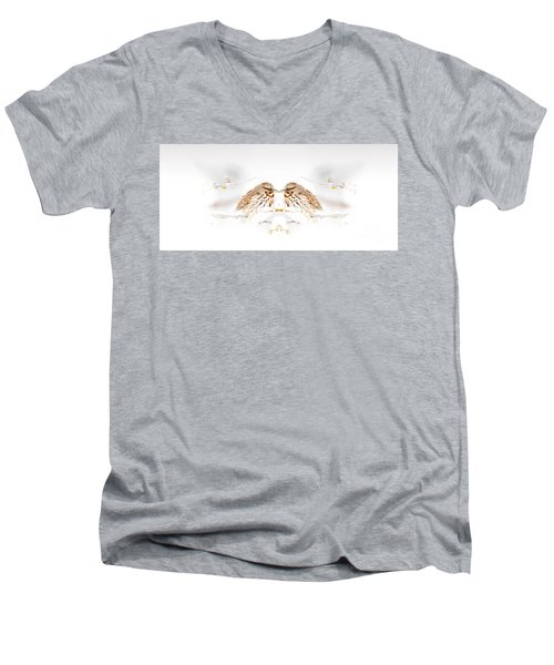 House Sparrow Men's V-Neck T-Shirt