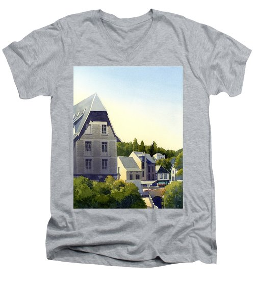 Houses At Murol Men's V-Neck T-Shirt