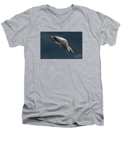 Hover  Men's V-Neck T-Shirt by Gary Bridger