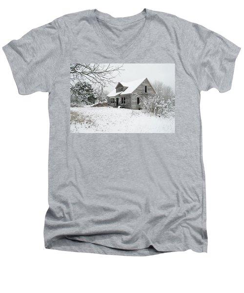 How Long Has It Been? Men's V-Neck T-Shirt