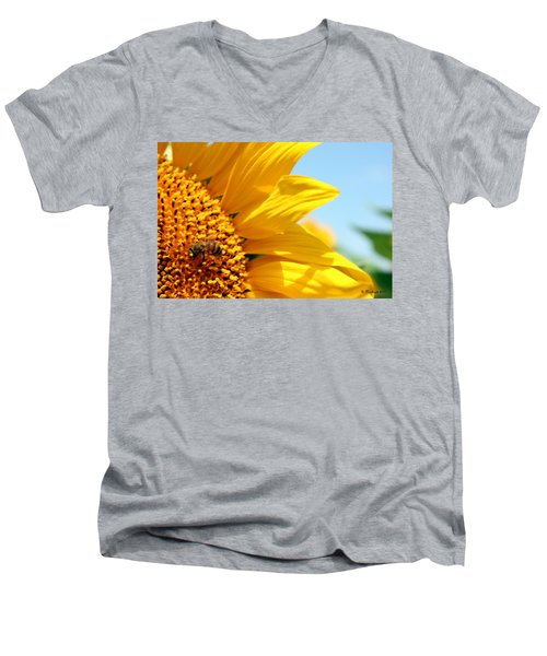 How Sweet It Is Men's V-Neck T-Shirt by Betty Northcutt
