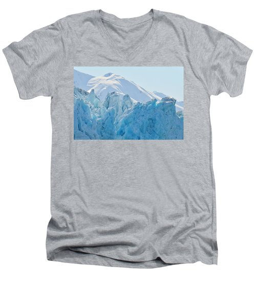 Hubbard Glacier Men's V-Neck T-Shirt