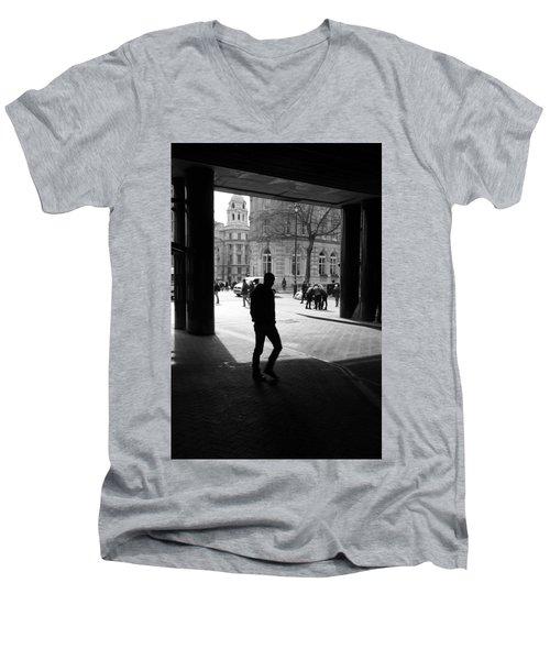 Huddle Up Men's V-Neck T-Shirt