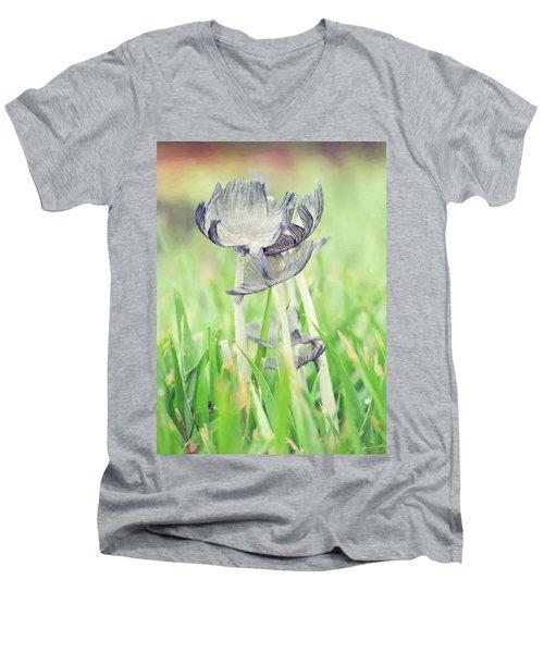 Huddled Men's V-Neck T-Shirt