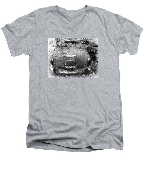 Hudson In The Pines Men's V-Neck T-Shirt