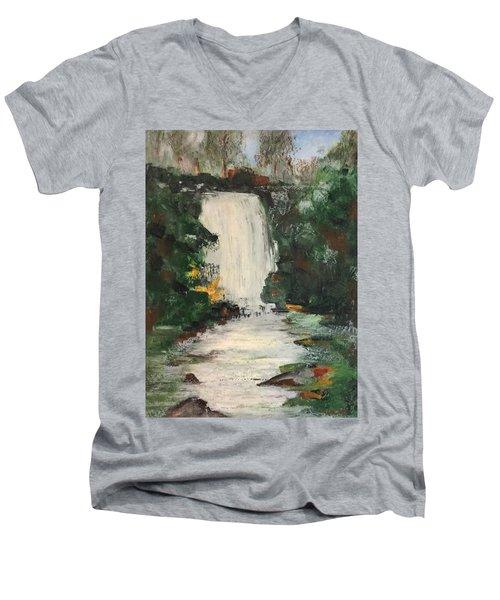Huerquehue  Men's V-Neck T-Shirt