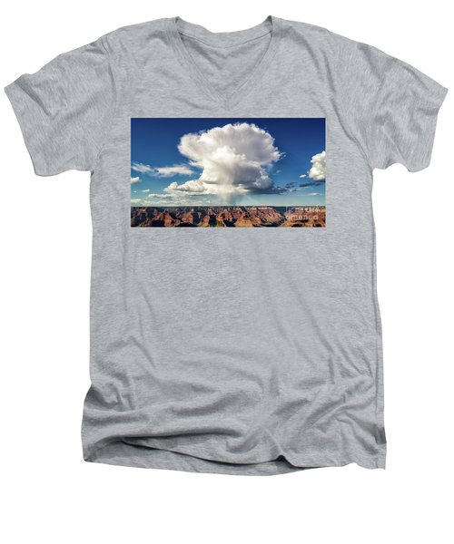 Huge Men's V-Neck T-Shirt