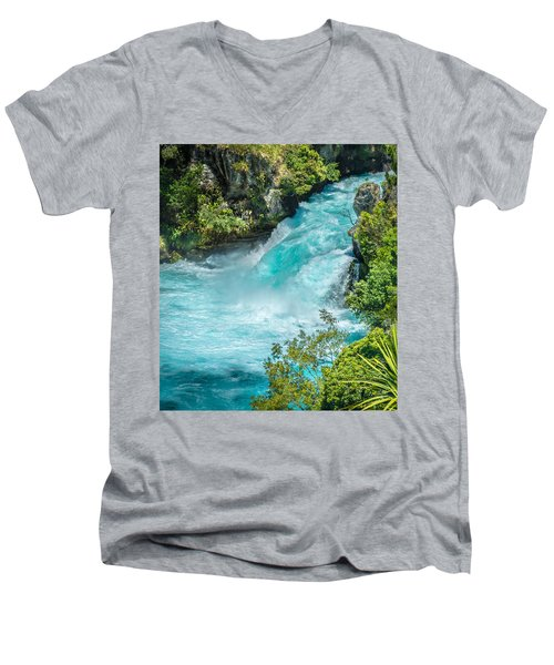Huka Falls Men's V-Neck T-Shirt