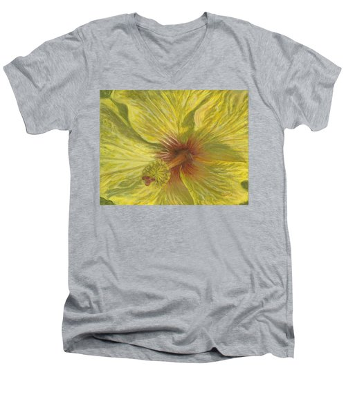 Hula Girl Men's V-Neck T-Shirt