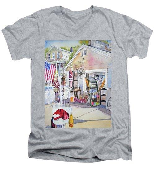Hull Of A Shoppe Men's V-Neck T-Shirt