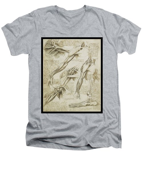 Human Arm Study Men's V-Neck T-Shirt