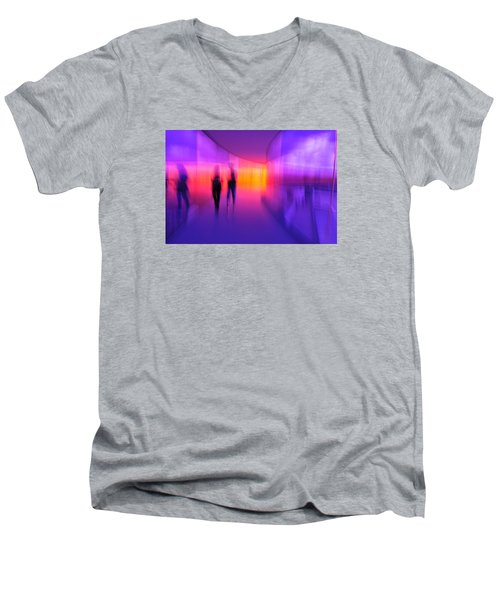 Human Reflections Men's V-Neck T-Shirt