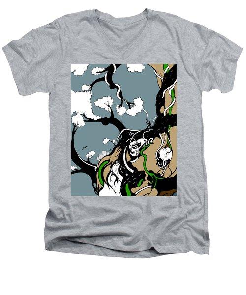 Humanity Rising Men's V-Neck T-Shirt