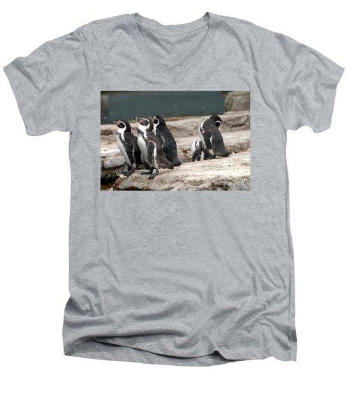 Humboldt Penguins Men's V-Neck T-Shirt