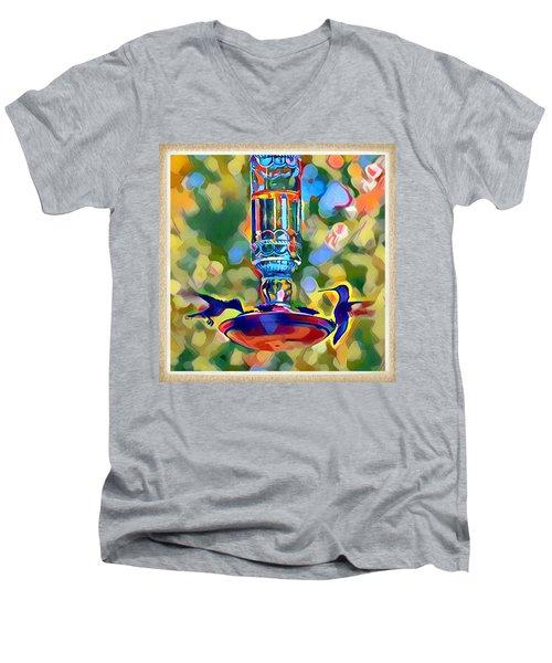 Hummers Men's V-Neck T-Shirt